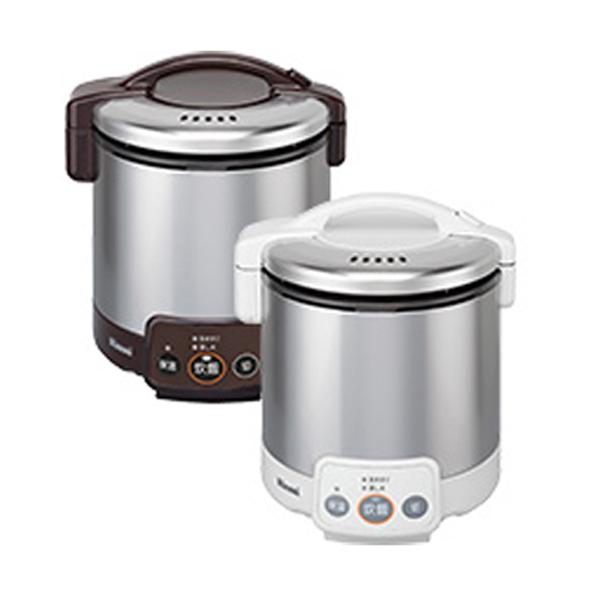 リンナイ こがまる ガス炊飯器 VM 都市ガス用 RR050VM-DB-13X ダークブラウン