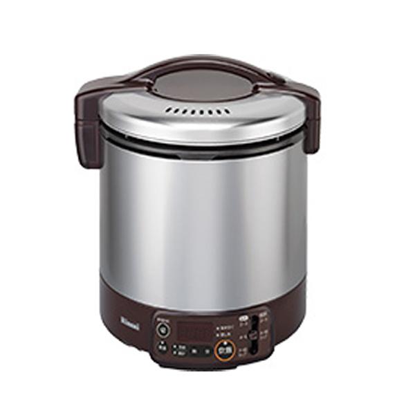 リンナイ こがまる ガス炊飯器 VMT LPガス用 RR100VMT-DB-LPG ダークブラウン【送料無料】