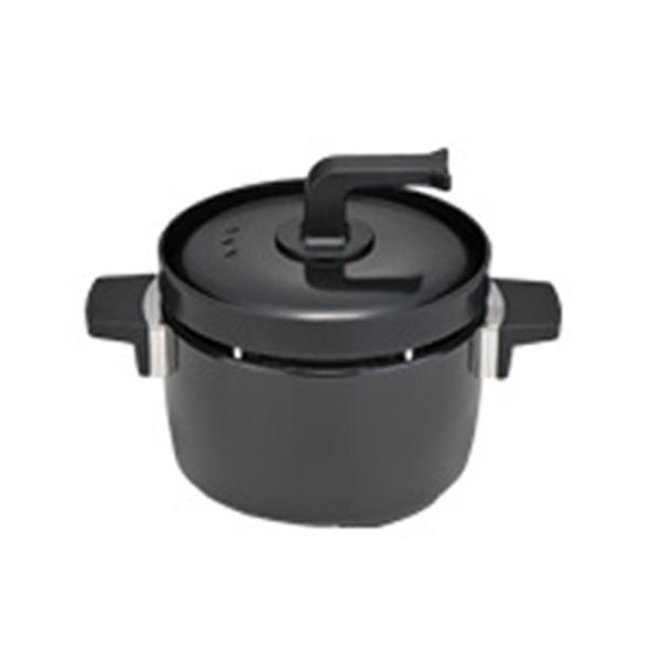 リンナイ ラクシエ LAKUCIE 3合炊き炊飯釜 つつみ炊きKAMADO RTR-03E ブラック