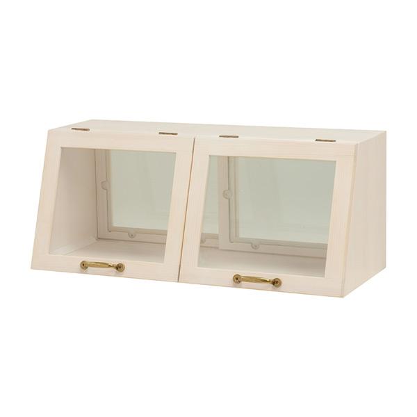 カウンター上ガラスケース MUD-6067WS 4934257226639 ホワイト 代引き不可
