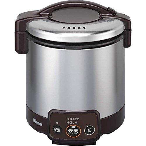 リンナイ ガス炊飯器 こがまる RR-050VM(DB) 13A 【都市ガス】 5合炊き(代引不可)【送料無料】