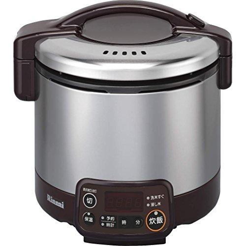 リンナイ ガス炊飯器 こがまる RR-030VMT(DB) 13A 【都市ガス】 3合炊き(代引不可)【送料無料】