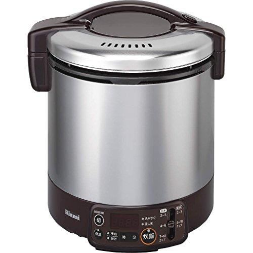 リンナイ ガス炊飯器 こがまる RR-100VMT(DB) LP 【プロパンガス(LPガス)】 1升炊き(代引不可)【送料無料】