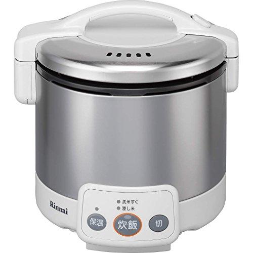 リンナイ ガス炊飯器 こがまる RR-030VM(W) 13A 【都市ガス】 3合炊き(代引不可)【送料無料】