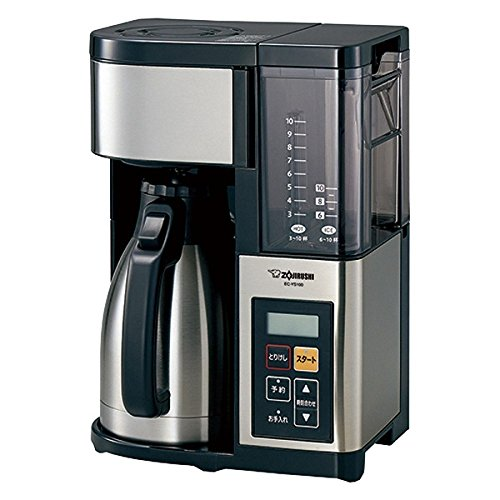 象印 コーヒーメーカー 10杯 EC-YS100-XB ステンレスブラック【送料無料】