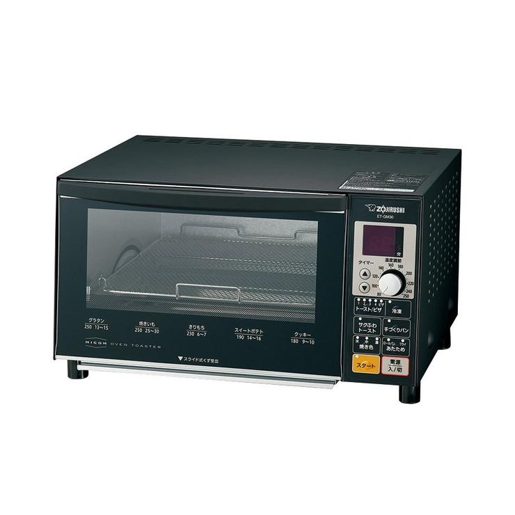象印 オーブントースター 4枚焼き ET-GM30-BZ マットブラック【送料無料】