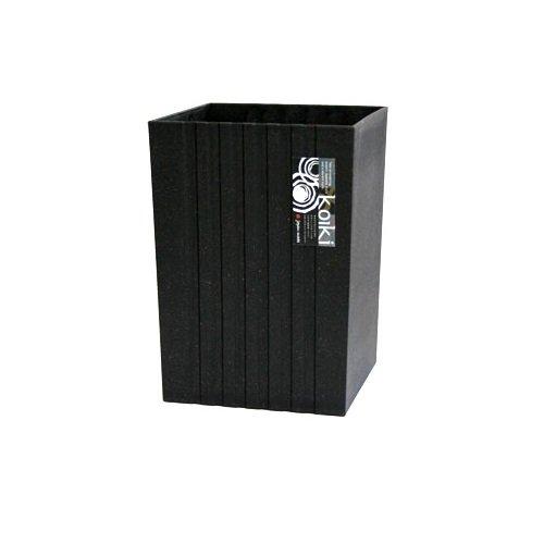 激安 激安特価 送料無料 八幡化成 割り引き way-be Koiki modern コイキ モダン 角型小 4.5L BK ゴミ箱