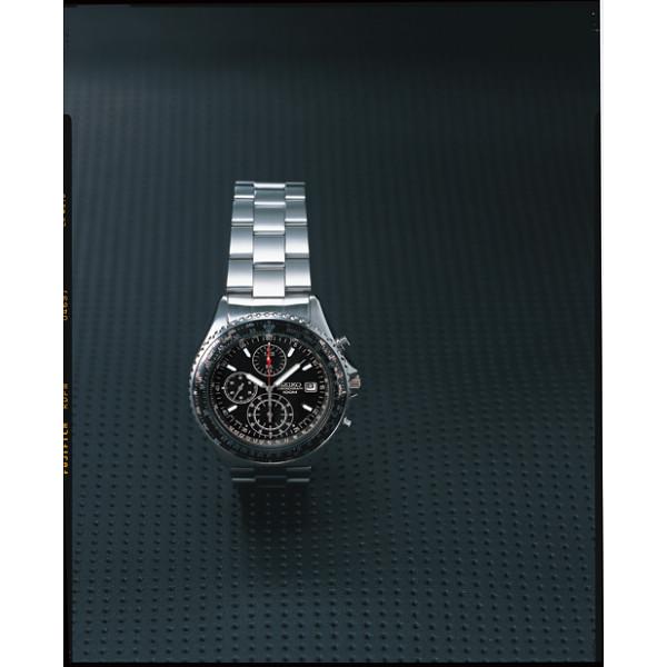 セイコー パイロットクロノグラフ腕時計 ブラック 海外セイコー 装身具 紳士装身品 紳士腕時計 SND253PC(代引不可)【送料無料】
