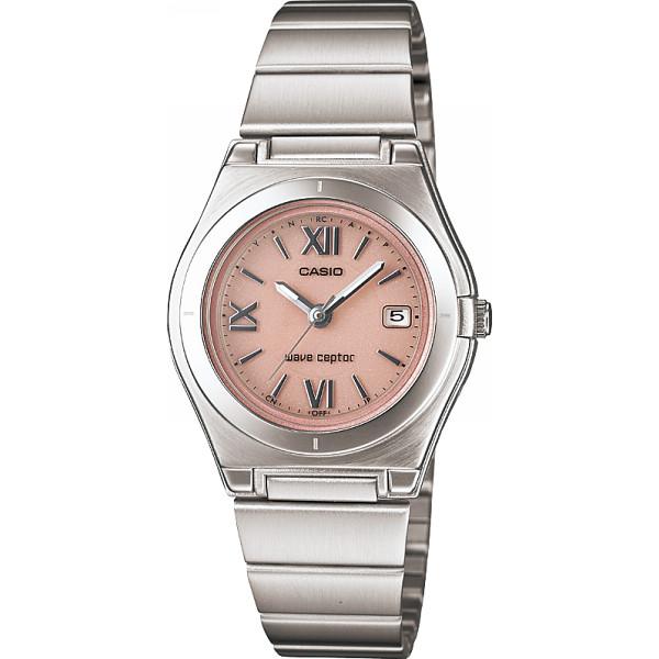 CASIO カシオ ソーラー電波レディース腕時計 ピンク 装身具 婦人装身品 婦人腕時計 LWQ-10DJ-4A1JF(代引不可)【送料無料】