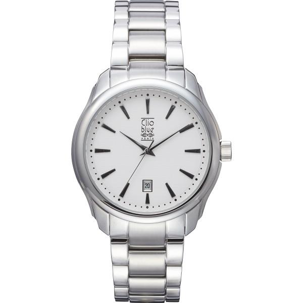 クリオブルー 三つ折式メンズ腕時計 装身具 紳士装身品 紳士腕時計 W-CLM15229SV(代引不可)【送料無料】