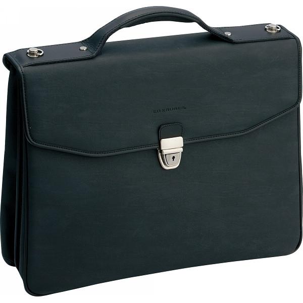 エドクルーガー クラッチバッグ ブラック カバン バッグビジネス 手付きクラッチ 23-0536BK(代引不可)【送料無料】