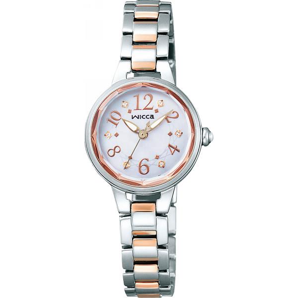 ウィッカ ウィッカ レディース腕時計 シルバー 装身具 婦人装身品 婦人腕時計 KH8-519-93(代引不可)【送料無料】