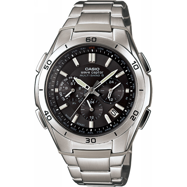 CASIO カシオ ソーラー電波 メンズ腕時計 ブラック 装身具 紳士装身品 紳士腕時計 WVQ-M410DE-1A2JF(代引不可)【送料無料】