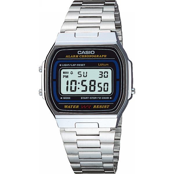 CASIO カシオ デジタル腕時計 装身具 紳士装身品 紳士腕時計 A164WA-1(代引不可)