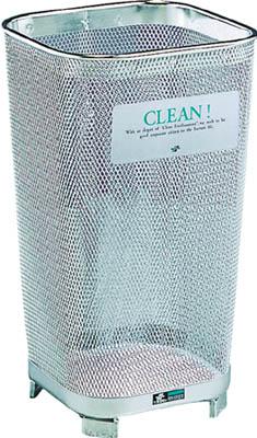 テラモト グランド350角ステン14【DS-198-135-0】(清掃用品・ゴミ箱)