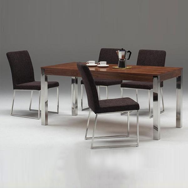 モダンデザイン ダイニングテーブル(W160)(代引き不可)【送料無料】