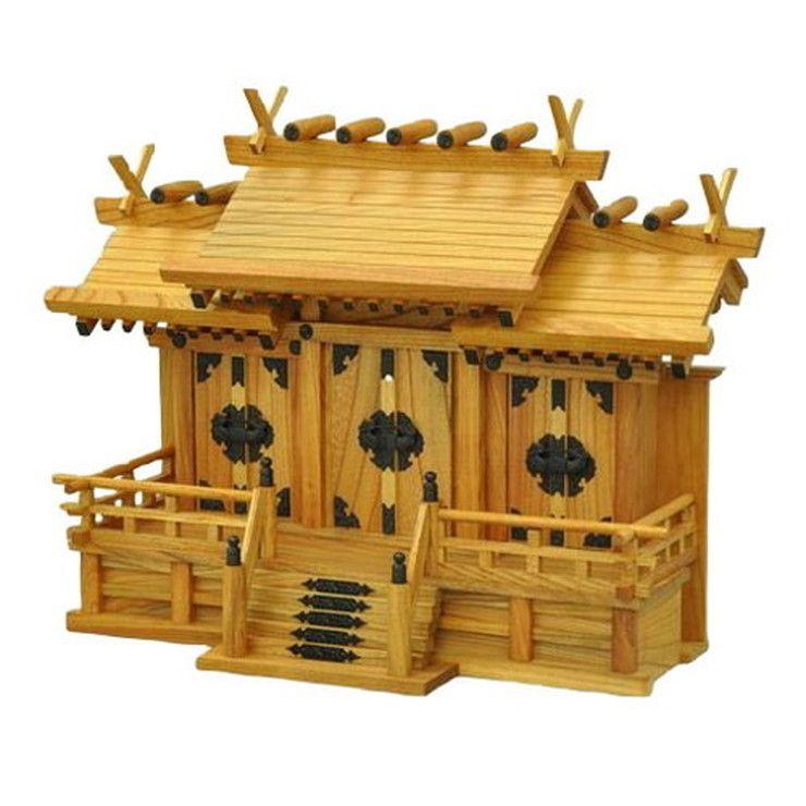 日本製 長政 中 国産 お札 神具 お参り 天然木 おふだ かみだな 神札(代引不可)【送料無料】