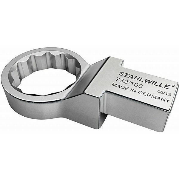 STAHLWILLE スタビレー 732/100-36 トルクレンチ差替ヘッド メガネ【58221036】(代引不可)【送料無料】