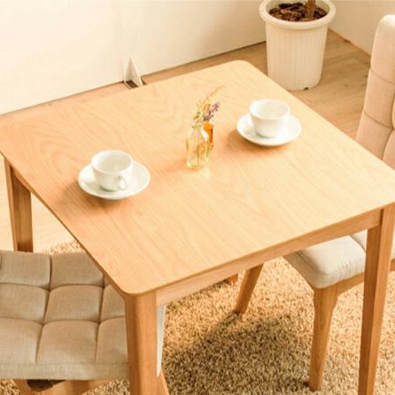 ダイニングテーブル 北欧 テーブル 木製 幅75cm 正方形 ダイニング 木目 ウォールナット 食卓用 ダイニングテーブル(代引不可)【送料無料】