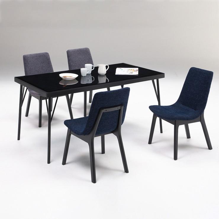 ダイニングテーブルセット 5点セット ダイニングテーブル 4人掛け 食卓 テーブル セット 食卓テーブル(代引不可)【送料無料】