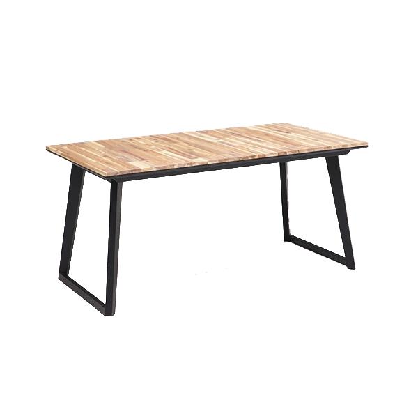 ダイニングテーブル ダイニングテーブル単品 ナチュラル 150cm 無垢材使用 スクエア脚 アカシア無垢材 4人掛け用 テーブル(代引不可)【送料無料】