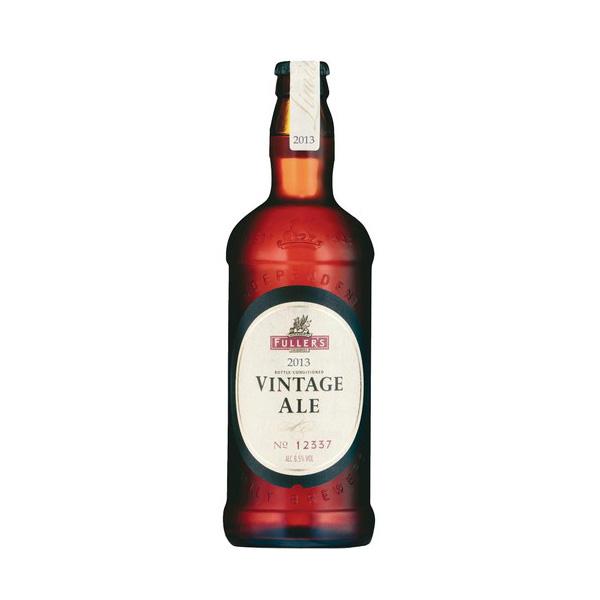フラーズ ヴィンテージ エール2013 500ml/瓶 ヴィンテージエール ビール イギリス 【1ケース販売:12本入り】【送料無料】