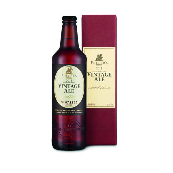 フラーズ ヴィンテージ エール2015 500ml/瓶 ヴィンテージエール ビール イギリス 【1ケース販売:12本入り】【送料無料】