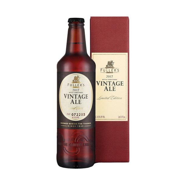 フラーズ ヴィンテージ エール2017 500ml/瓶 ヴィンテージエール ビール イギリス 【1ケース販売:12本入り】【送料無料】