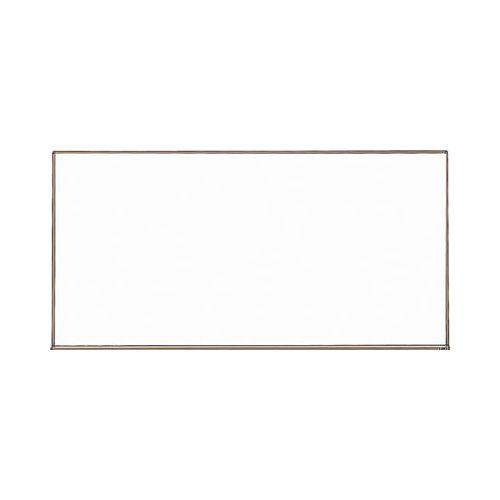 TRUSCO スチール製ホワイトボード 白暗線 900X1800 黒 WGH102SA(代引き不可)【送料無料】