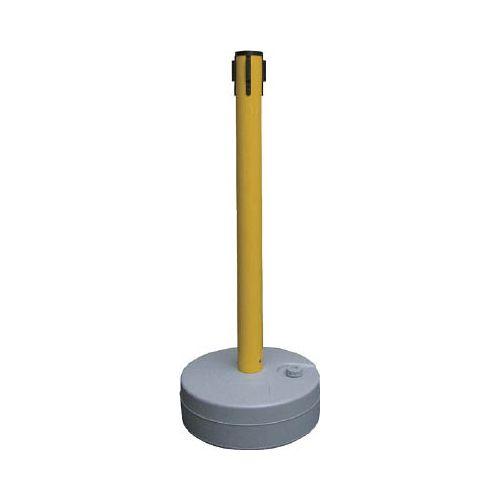 緑十字 バリアースタンド(キャッチのみ) ポール:黄 990×380mmΦ 368022(代引き不可)【送料無料】