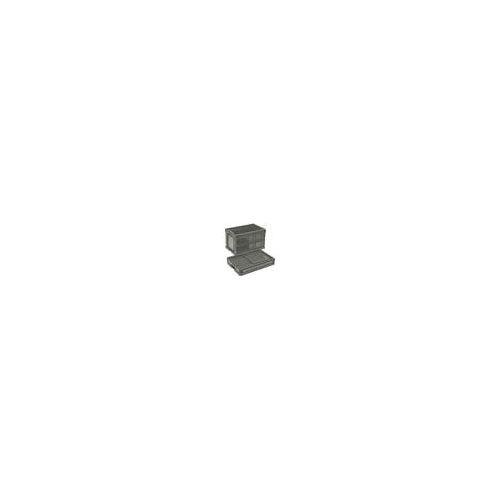リス 折りたたみコンテナCB-S175C グレー CBS175C(代引き不可)【送料無料】
