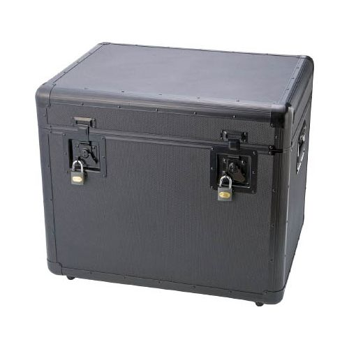 TRUSCO TAC610BK(代引き不可)【送料無料】 黒 万能アルミ保管箱 610X457X508