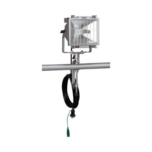 ハタヤ 防雨型ハロゲンライト 300W 100V接地付電線5m バイス付 PH305KN(代引き不可)