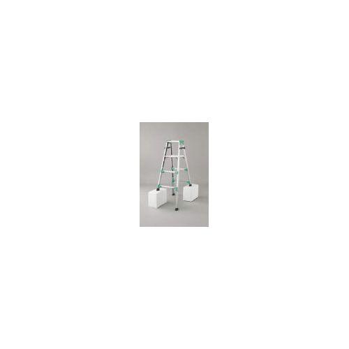 ハセガワ 脚部伸縮式アルミはしご兼用脚立 RYZ型 4段 RYZ1.012(代引き不可)【送料無料】