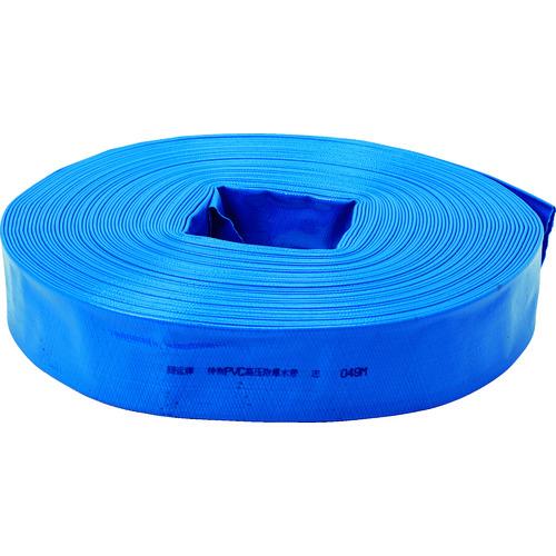 TRUSCO トラスコ PVC送排水用ホース 50MM×100M TPVCH50100 6600(代引不可)【送料無料】