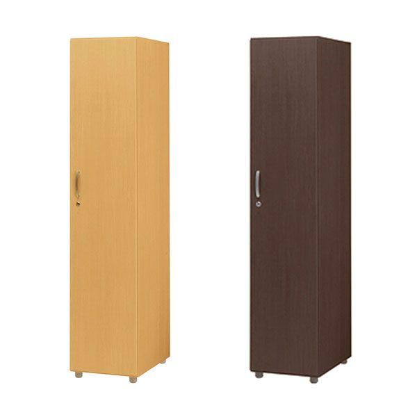 木製 ジョイントロッカー 1人用 1段 単体 ハンガーラック 衣類収納 ロッカー(代引不可)【送料無料】