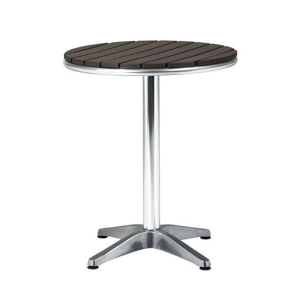 ガーデン テーブル アルミ製 クーポス アルミテーブル 完成品 円形 ガーデンファニチャー ガーデンテーブル(代引不可)【送料無料】