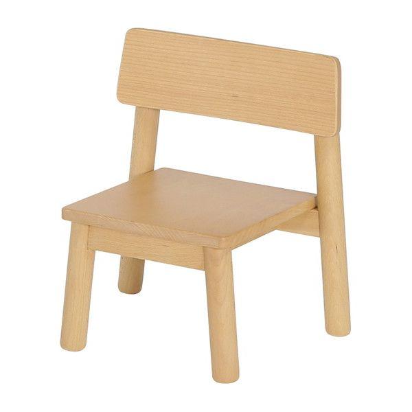 木製 キッズチェア 175 ミニオン 完成品 座面高17.5cm スタッキング式 重ねて収納 子供用椅子 イス チェア(代引不可)【送料無料】【S1】