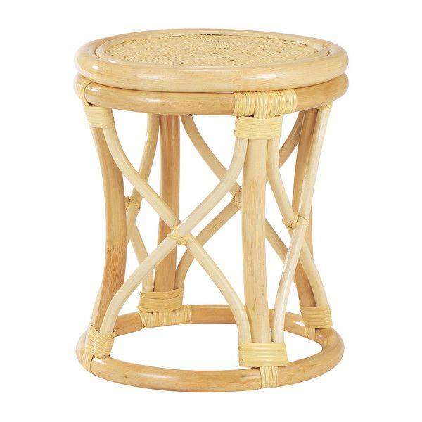 ラタンスツール 籐 スツール ラタン イス チェア 椅子(代引不可)【送料無料】【S1】