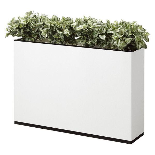 フラワーボックス J型 プランター 花壇 幅120cm プランターボックス(代引不可)【送料無料】