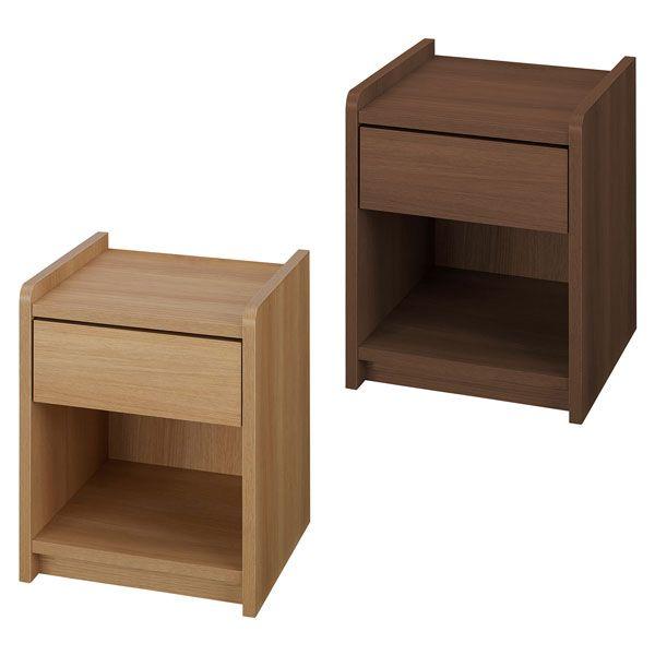 木製 ナイトテーブル 完成品 サイドテーブル ベッドテーブル テーブル(代引不可)【送料無料】