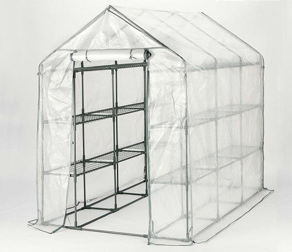 ビニール温室 スーパーBIG温室 大型 ビニールハウス フラワースタンド 大型温室 スーパービッグ温室 園芸 WOST-214【送料無料】