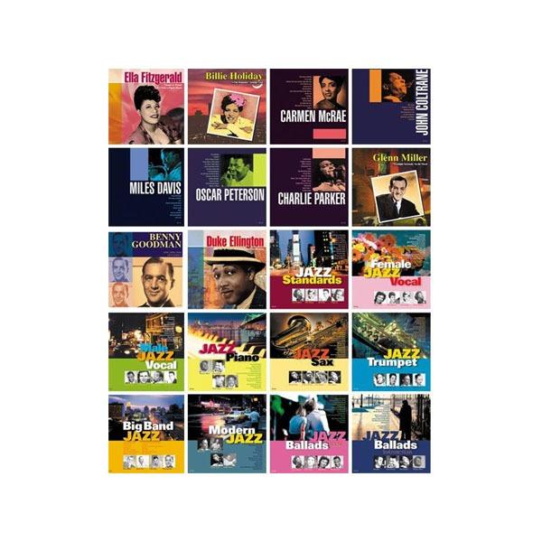 ベスト・ジャズ オムニバス CD20枚組【送料無料】