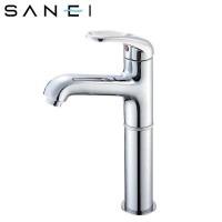 三栄水栓 SANEI シングルワンホール洗面混合栓 K4710NJV-2T-13【送料無料】【S1】