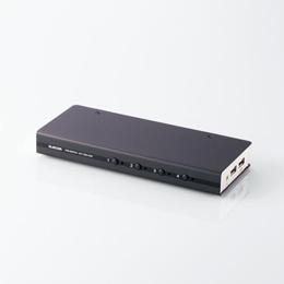 DVI対応パソコン切替器KVM-DVHDU4 エレコム(代引き不可)