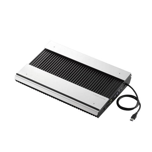 エレコム USB3.0ハブ付きノートPC用クーラー(高耐久性×極冷) SX-CL24LBK パソコン パソコン周辺機器 ノートパソコン用クーラー(代引不可)【送料無料】