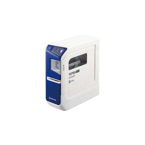 キングジム ラベルプリンター「テプラ」PRO(ブルー) SR5500P SR5500P パソコン(代引不可)【送料無料】
