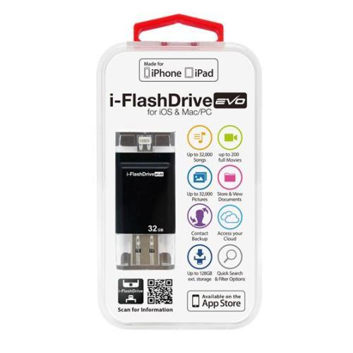 Photofast i-FlashDrive EVO for iOS&Mac/PC Apple社認定 LightningUSBメモリー 32GB IFDEVO32GB【送料無料】