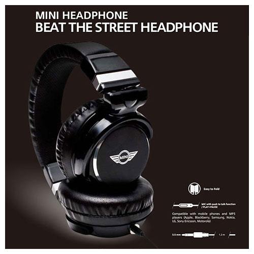 MINI 公式ライセンス品 HEAD PHONE 3.5ステレオプラグ MNHP104BL【送料無料】