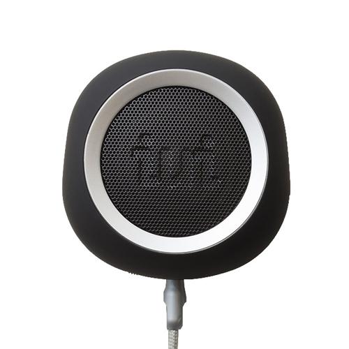 iui audio ウーファー搭載ポータブルスピーカー BeYo(ビーヨ) ブラック×シルバー TR-4265/BKSV【送料無料】